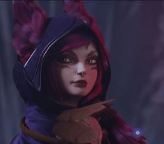 New party member! Tags: lol league of legends league eye roll eyeroll xayah rakan