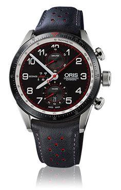 Reloj Oris Artix Calobra, edición limitada, movimiento automático, cronógrafo, caja de acero de 44 milímetros de diámetro con correa de piel. #Oris #relojeríabarcelona