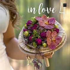 In Love 4 - Inspiration Bouquets in many forms [BOOK] Hand Flowers, Bride Flowers, Flowers For You, Bride Bouquets, Wedding Flowers, Birthday Bouquet, Flower Ball, Floral Foam, Flower Designs