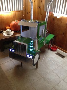 My sons semi truck halloween costume - Pink Stroller - Ideas of Pink Stroller - My sons semi truck halloween costume Stroller Halloween Costumes, Stroller Costume, Hallowen Costume, Family Halloween Costumes, First Halloween, Holidays Halloween, Halloween Diy, Costume Ideas, Monster Truck Birthday