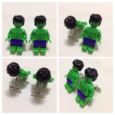 LEGO Cufflinks Mens Cufflinks Groom Cufflinks by ticklesbytaylor Groom Cufflinks, Wedding Gifts, Wedding Ideas, Father Of The Bride, Groomsman Gifts, Groomsmen, Avengers, My Etsy Shop, Lego Minifigure