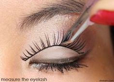 False Eyelashes Application for Beginners (2)