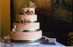 love the staircase effect - Cocoa Bean Geneva Gluten Free Menu, Cocoa, Wedding Cakes, Beans, Birthday Cake, Geneva, Desserts, Wedding Gown Cakes, Tailgate Desserts