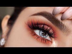 Halo Eye // Huda Desert Dusk Palette - Sofie Bella - YouTube
