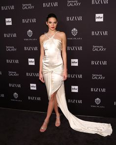At Harper's Bazaar's ICONS Party in New York.   - ELLE.com