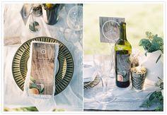 Styled Orchard Wedding | Rustic Wedding Decor