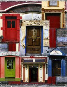 irish pub doors