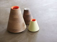 wood vase glass insert - Google Search