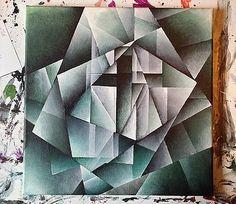 Cubist Cross by Brandon Allebach