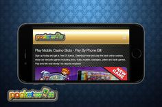 Play with cool £200 by paying £100 at PocketWin! Sign up and play Master of Fortunes, Jackpot Agent, Cowboys & Indians slot games and more on your mobiles