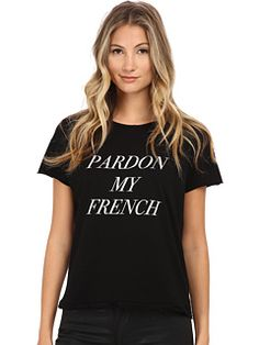 StyleStalker Pardon My French Tee
