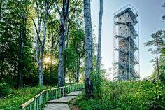 Külföldön is felfigyeltek a Galya-kilátóra Top 15, Hungary, Glamping, Places To See, Arch, Marvel, Outdoor Structures, Plants, Traveling
