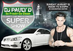 The time Pauly D spun live at the Rhode Island Car Show.   The 24 Most Rhode Island Things To Ever Happen