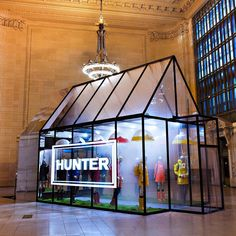 New York, we've arrived. Visit @grandcentralnyc from October 22 – 25 to experience the misty landscape of the Scottish Highlands in the heart of Manhattan. #HunterNewYork