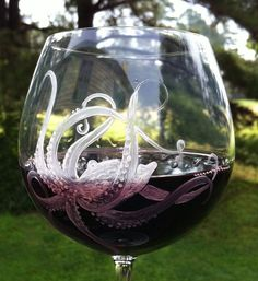 Now this is a wine glass to die for