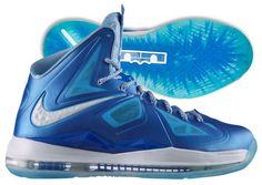 Nike LeBron X and X+ , LeBron James signature shoes