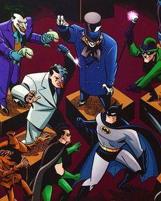 Batman & Robin Vs Gotham Rogues