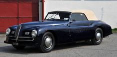1947 Alfa Romeo 6C 2500 Sport Cabriolet by Pinin Farina  You know what I love about this car? Its simplicity.
