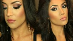 DRUGSTORE GLAM MAKEUP LOOK Using L'Oreal Palette Nude 2 I Giveaway (closed)
