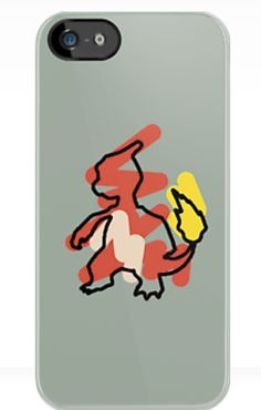 Pokémon iphone 5 cases from redbubble.com. Prices range from $30-45. Charmeleon