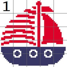 Nautical Afghan Blocks Boys Graph Patterns by BeingKeLeighDesigns Kids Coats Girls, Embroidery Letters, Ship Wheel, Small Pillows, C2c, Nautical Theme, Sailboat, Single Crochet, Needlepoint