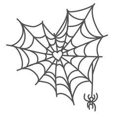 Silhouette Design Store: Spiderweb Heart With Spider Design Store Product ID 304677 Kritzelei Tattoo, Tatoo Henna, Poke Tattoo, Tattoo Outline, Samoan Tattoo, Polynesian Tattoos, Pretty Tattoos, Cool Tattoos, Tatoos