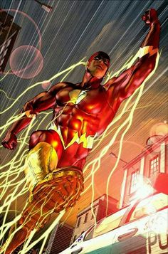 Comixz, Comics Art - The Flash, Flash Central, Dc Comics Comic Book Heroes, Marvel Heroes, Comic Books Art, Comic Art, Marvel Dc, Book Art, Flash Comics, Arte Dc Comics, Flash Tv