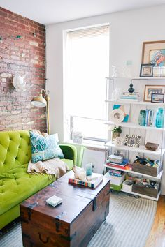nyc apartment tour, hipster apartment, small one bedroom apartment, small space, boho apartment, boho decor, bohemian decor, bohemian apartment