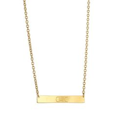 Shop the look: Chic Bar Necklace from Kendra Phillip