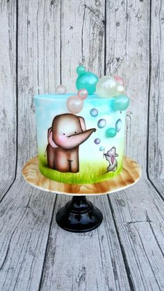 Playing with bublles by Mariya's Cakes & Cookies