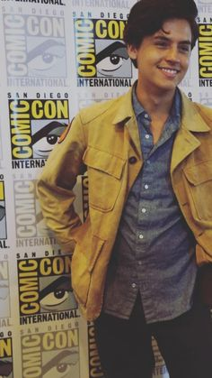 cole, comic con, and sprouse image