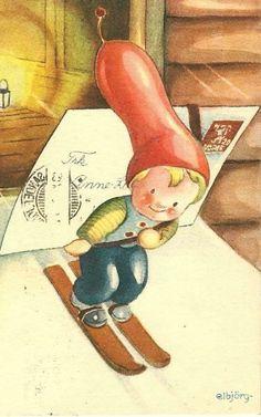 Elbjørg Øien Lettering, Writing, Illustration, Art, Art Background, Illustrations, Drawing Letters, Kunst, Letters
