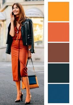 Colour Combinations Fashion, Color Combinations For Clothes, Color Blocking Outfits, Fashion Colours, Colorful Fashion, Color Combos, Color Balance, Color Harmony, Wardrobe Color Guide