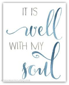 it is well tattoo - Google Search