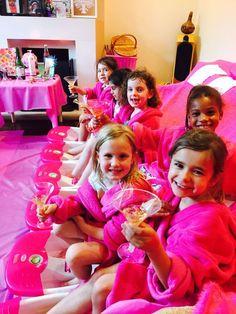 Girls Spa Parties London