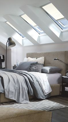 Imagine the possibilities when a space is transformed with VELUX skylights with our Product Advisor tool.