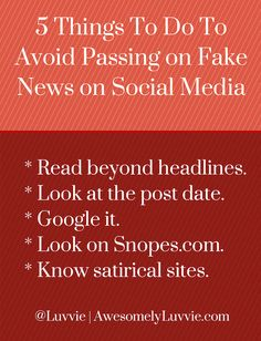 5 Things To Do To Avoid Passing On Fake News on Social Media. Just good to remember Diversity In The Classroom, Critical Thinking, Social Thinking, School Librarian, Digital Literacy, Media Literacy, Important News, Digital Citizenship, Word Pictures