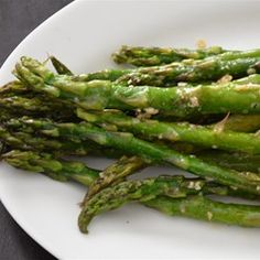 "Oven-Roasted Asparagus | ""I make this all the time, and it's unbelievably good!"""