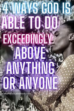 In this post I am going to tell you how and why God is able to do exceedingly above anything you can expect from other people. God is able to do for you what people won't do for you. Let me ask you a few questions that I know you will be able to relate to. Christian Movies, Christian Women, Happy Vibes, Christian Encouragement, Spiritual Growth, Trust God, Other People, To Tell, Blessing