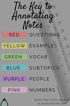 How to Study Notes High School Hacks, Life Hacks For School, School Study Tips, School Organization Notes, Study Organization, How I Take Notes, Good Notes, College Notes, School Notes
