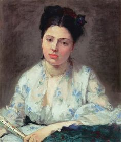'Young Woman' 1871 - Berthe Morisot