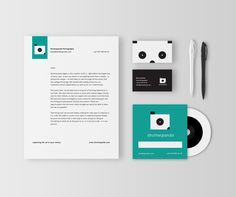 Shutterpanda photography identity by  Moving Things Design Co.