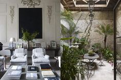 les plus belles deco maison de charme | The World of Interiors. Rose Uniacke. I soooo would love an atrium or ...