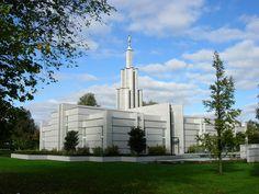 Hague Netherlands Mormon Temple