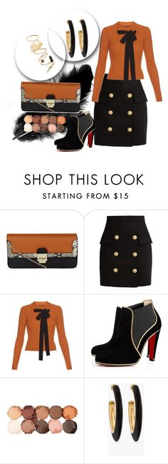 """""""Untitled #24"""" by hanias-hangers ❤ liked on Polyvore featuring New Look, Balmain, Rochas, NYX, Chico's and BP."""