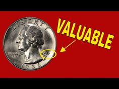 We talk about quarter worth money you should look for. The 1986 quarter you should look for. We talk about regular strike quarters as well as proof and error. Rare Coin Values, Rare Pennies, Old Coins Worth Money, P Value, Valuable Coins, Error Coins, Coin Worth, Attract Money, Interesting Information