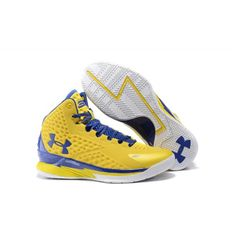 Authentic Curry Shoes Under Armour Curry One Basketball Sneakers Yellow - Under Armour Outlet Stephen Curry 1 Shoes Sale