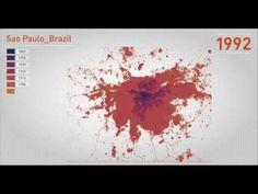 LINGUAGEM GEOGRÁFICA: VEJA 200 ANOS DE URBANIZAÇÃO DE SÃO PAULO EM 30 SEGUNDOS