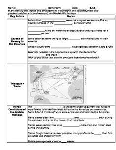 Northwest Passage French and Dutch Exploration Worksheet   School ...