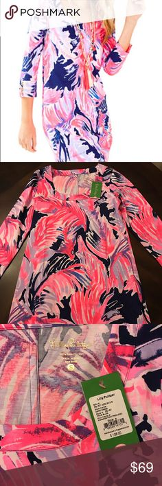 NWT Lilly Pulitzer Merrit dress NWT Lilly Pulitzer merrit dress in paradise point size small Lilly Pulitzer Dresses